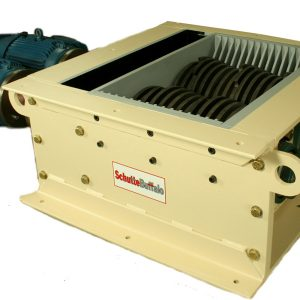 KE Series dual shaft industrial shredder