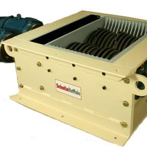 KE Series dual shaft industrial shredder