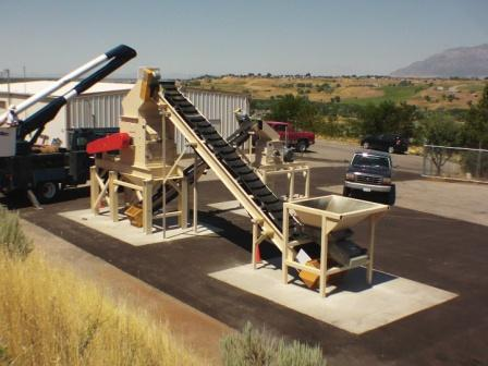 Schutte-Buffalo size reduction installation for recyling munitions
