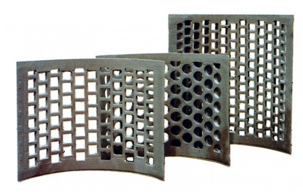 screens for Schutte-Buffalo HZF Series horizontal trim scrap wood grinding hammer mill