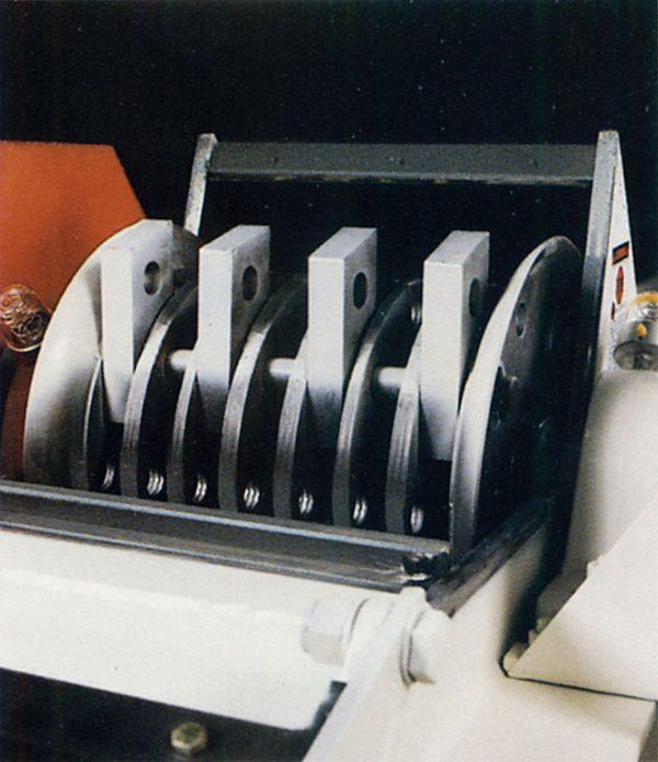 Rotor Assembly for HZF Horizontal Trim Scrap Grinder