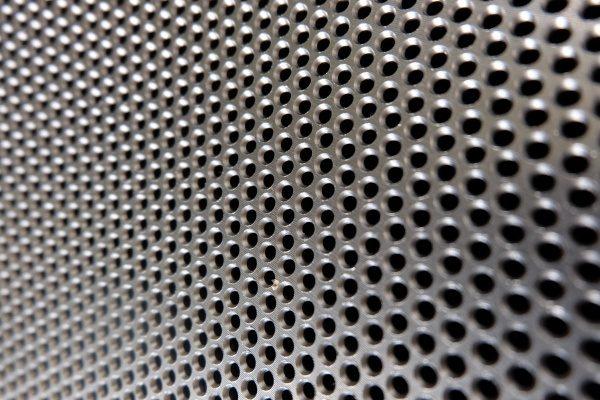 close up of pellet mill die